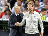Der Ex mit dem Neuen? Nach dem überraschenden Abschied von Zinédine Zidane wünschen sich viele Madrilenen, dass Jürgen Klopp das Traineramt bei Real übernimmt.