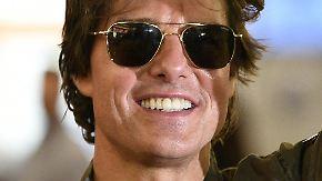 Promi-News des Tages: Tom Cruise schlüpft wieder in den Fliegeranzug