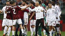 Der Sport-Tag: AC Mailand droht Ausschluss aus Europa League