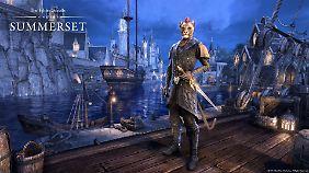 """""""The Elder Scrolls Summerset"""" können jetzt auch Konsolen-Spieler spielen."""