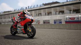 """In """"MotoGP 18"""" fahren Spieler Rennen auf 19 offiziellen Strecken."""