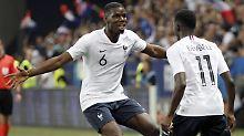 Testspiel-Sieg gegen Italien: Frankreich zeigt sich in starker WM-Form