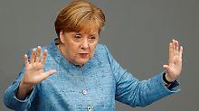 Gratulation samt Absage: Merkel will Italien Schulden nicht erlassen
