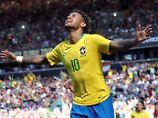 """Per Dribbling zum Tor: Neymar ist """"bei 80 Prozent"""""""