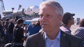 """Thomas Reiter im n-tv Interview: Astonaut Gerst """"muss noch Rendezvous-Test machen"""""""