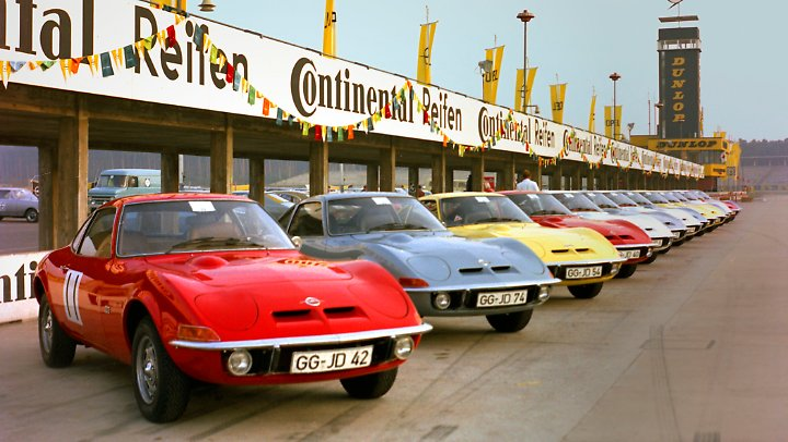 1968 wurde der GT am Hockenheimring der Presse vorgeführt.