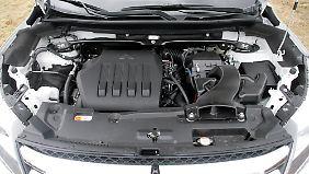 Der quer eingebaute 1,5-Liter-Benziner ist (noch) die einzige verfügbare Motorisierung.