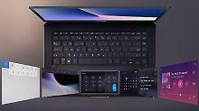 Ist das die Notebook-Zukunft?: Luxus-Laptop von Asus hat zwei Displays