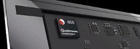 Notebook-Chip für Windows 10: Snapdragon 850 verspricht Akku-Rekorde