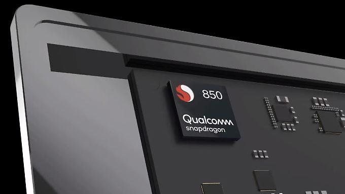Qualcomms Snapdragon 850 ist auf Windows-10-PCs zugeschnitten.