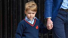 Terrordrohungen gegen George: Die Royals erhöhen die Sicherheit