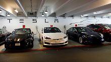"""Elektroautos für breite Masse: Tesla will """"Gigafabrik"""" in China bauen"""