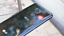 Vorschau aufs iPhone-Display: Das LG G7 kann alles, aber nicht mehr