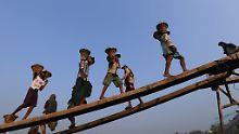 """""""Wir müssen geduldig sein"""": Myanmar will Kinderarbeit bekämpfen"""