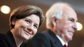 Kohl-Richter an der Seite ihres Mannes im Jahr 2011.