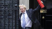"""Mitgeschnittene Brexit-Äußerung: Johnson rechnet mit Verhandlungs-""""Kollaps"""""""