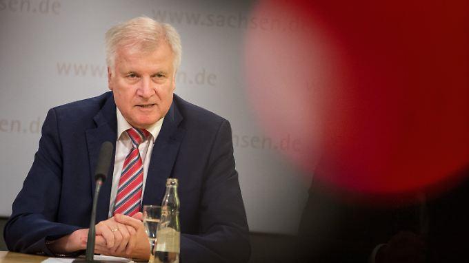 Horst Seehofer will Ernst machen.