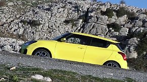 Kompakter Kurvenjäger: Suzuki präsentiert generalüberholten Swift Sport