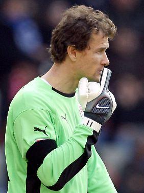 Jens Lehmann zeigt sich von seiner besten Seite.