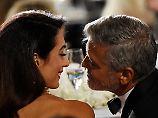 Schluchz, schnief: Amal Clooney schwärmt von George