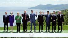 """""""Unser Verhältnis ist sehr gut"""": Trump schreibt G7-Erklärung noch nicht ab"""