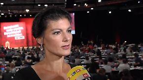 """Sahra Wagenknecht im n-tv Interview: """"Will Parteispitze nicht aus dem Amt jagen"""""""