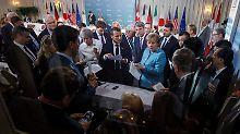 Von Freihandel bis Plastikmüll: Das steht in der G7-Erklärung
