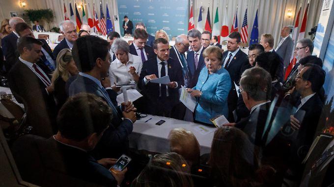 Bundeskanzlerin Angela Merkel kritisiert den Ausstieg Donald Trumps scharf.