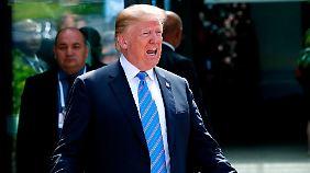 Wütender Twitter-Ausbruch: Trump beleidigt Trudeau und lässt G7-Erklärung platzen