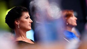 Machtkampf an der Linken-Spitze: Kipping überzeugt Delegierte in Flüchtlingsfrage