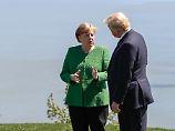 Wütende Tweets aus Singapur: Trump kritisiert Deutschland