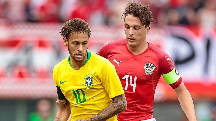 Auch gegen Österreich bestens aufgelegt: Neymar.