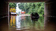 Faustgroße Hagelkörner: Schwere Unwetter überziehen den Süden