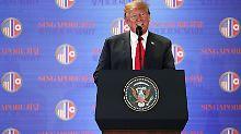 Liveticker USA-Nordkorea-Gipfel: So lief der Trump-Kim-Gipfel in Singapur