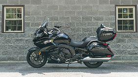 Mehr Komfort als die BMW K 1600 Grand America kann ein Motorrad kaum bieten.