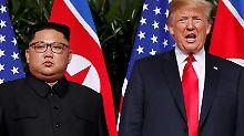 Interview nach dem Gipfel: Warum sollte es Kim ernst sein?