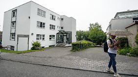 In dieser Wiesbadener Flüchtlingsunterkunft lebte Ali B. mit seiner Familie.