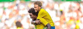 """Gruppe E: """"Die Auswahl"""" scheint ein beliebter Kosename für Nationalmannschaften zu sein, so heißt auch Brasiliens Team """"A Selecao"""". Zudem nennen die Brasilianer ihre Jungs auch liebevoll """"Os Canarinhos"""" (auf deutsch: die Kanarienvögel), angelehnt an die knallgelben Trikots"""