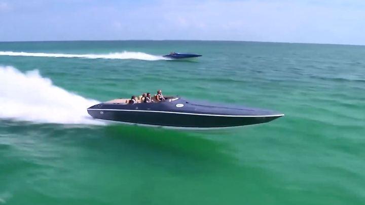 Mit dem Speedboot in eine rosige Zukunft? Wenn es nach dem Weißen Haus geht: ja.