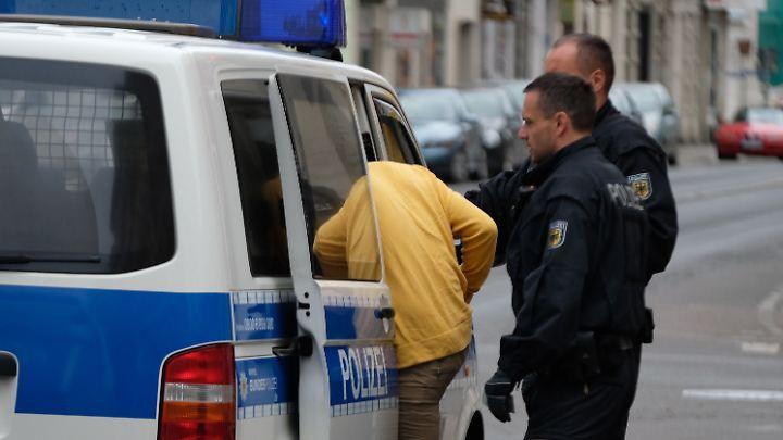 In Leipzig waren die Beamten der Bundespolizei schwerpunktmäßig unterwegs.
