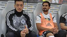 Weiterhin im Kreuzfeuer der Kritik: Mesut Özil und Ilkay Gündogan