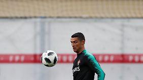 Cristiano Ronaldo wird auch bei dieser WM wieder im Mittelpunkt stehen.