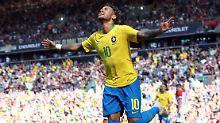"""Der Sport-Tag: Brasiliens Fußballer haben ein """"Anti-Spionage-Team"""""""