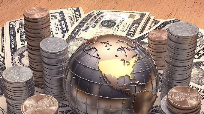 Die Privatvermögen kletterten 2017 auf rund 202 Billionen Dollar.