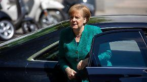 Koalition vor Zerreißprobe: Merkel will Kompromiss, CSU mauert im Asylstreit