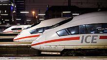 ICE's im Münchner Hauptbahnhof: Nach Berlin brauchen die Züge von hier aus nicht einmal mehr vier Stunden.