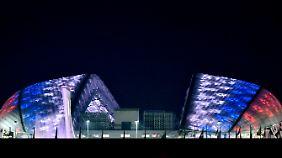 Das Fischt-Stadion in Sotschi.