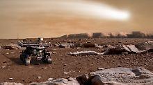 """Besorgt, aber hoffnungsvoll"": Mars-Rover steckt im Staubsturm fest"