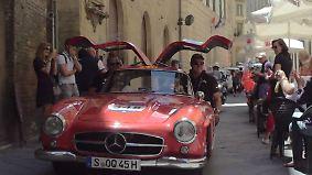"""Wo Geschwindigkeit zweitrangig ist: """"Mille Miglia"""" verlangt Oldtimer-Fans alles ab"""