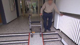 Krankenbett statt Gitterstäbe: Gefängnisse rüsten sich für alternde Häftlinge